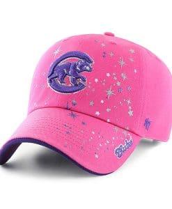 Chicago Cubs KIDS 47 Brand Bright Pink Girls Adjustable Hat