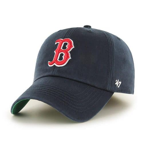 Boston Red Sox 47 Brand Navy Clean Up Franchise Fitted Hat