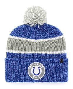 Indianapolis Colts 47 Brand Royal Noreaster Cuff Knit Hat