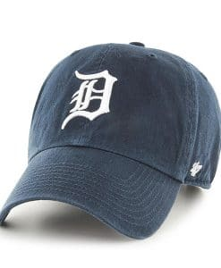 Detroit Tigers Women's 47 Brand Navy Home Clean Up Adjustable Hat