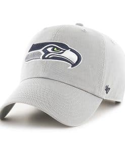 Seattle Seahawks 47 Brand Gray Clean Up Hat