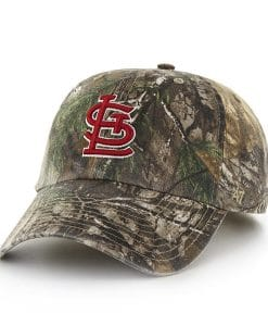St. Louis Cardinals 47 Brand Camo Realtree Adjustable Hat