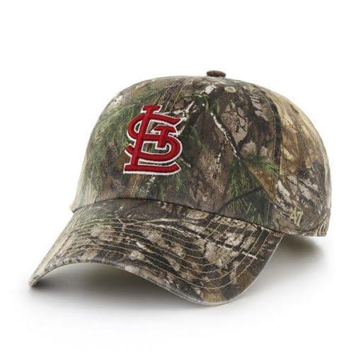 St. Louis Cardinals 47 Brand Camo Realtree Adjustable Hat