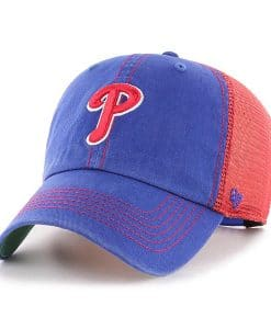 Philadelphia Phillies 47 Brand Trawler Royal Clean Up Adjustable Hat 65f5f3be5f26