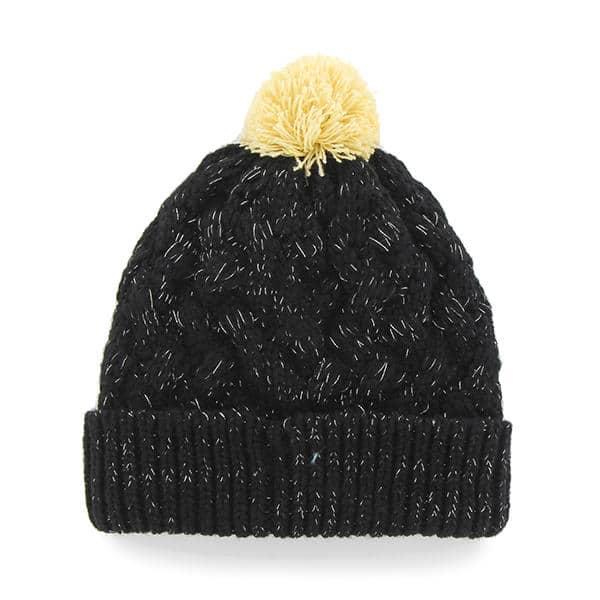 online retailer 67f93 34a80 New Orleans Saints INFANT / TODDLER 47 Brand Black Fiona Cuff Knit Hat -  Detroit Game Gear
