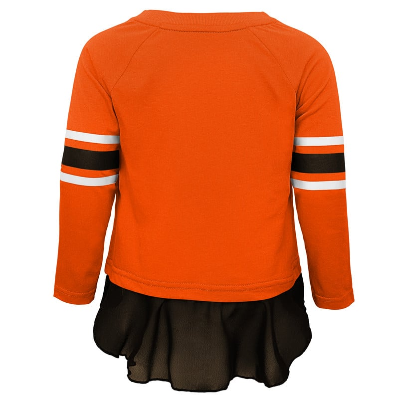 best value 89b49 cded6 Cleveland Browns Toddler Girls Pants & Top 2 Piece Set - Detroit Game Gear