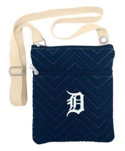 Detroit Tigers Chevron Stitch Cross Body Bag
