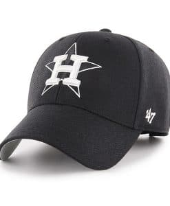 Houston Astros 47 Brand Black MVP Adjustable Hat