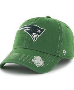 New England Patriots 47 Brand St Patty's Fatty Green Adjustable Hat