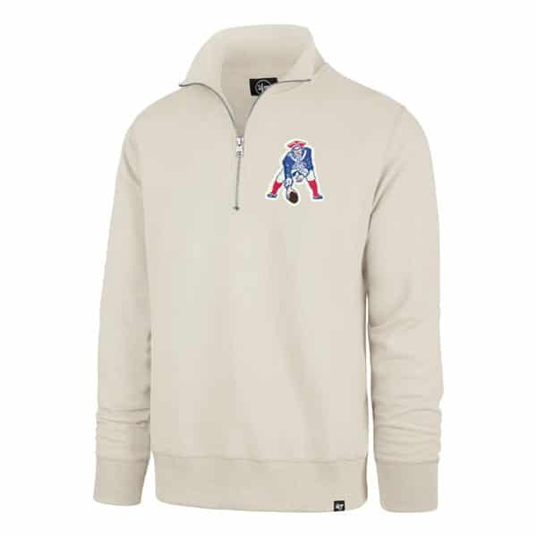 sports shoes 26a45 802cc New England Patriots Men's 47 Brand Dune Classic 1/4 Zip Pullover