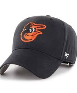 Baltimore Orioles KIDS 47 Brand Black MVP Adjustable Hat