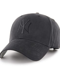 New York Yankees TODDLER 47 Brand All Black MVP Adjustable Hat