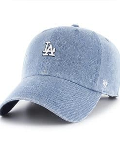 Los Angeles Dodgers Women's 47 Brand Timber Blue Clean Up Adjustable Hat