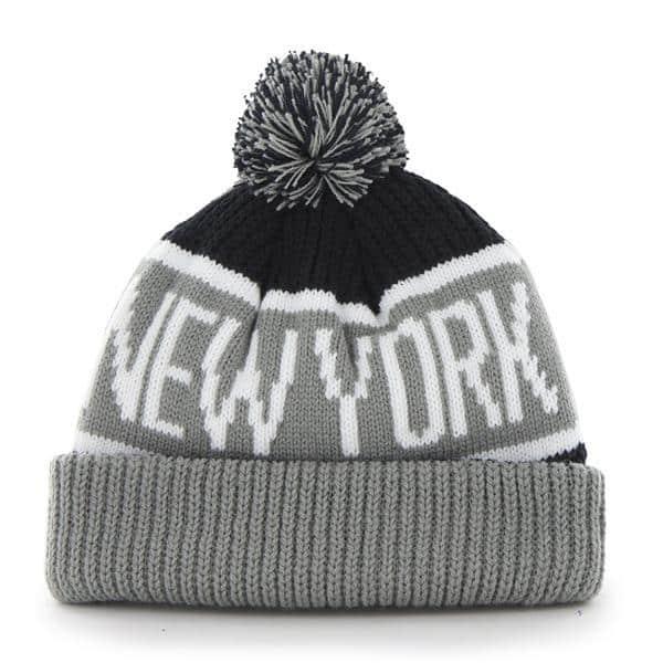 c61390e8b New York Yankees 47 Brand Navy Calgary Cuff Knit Hat - Detroit Game Gear