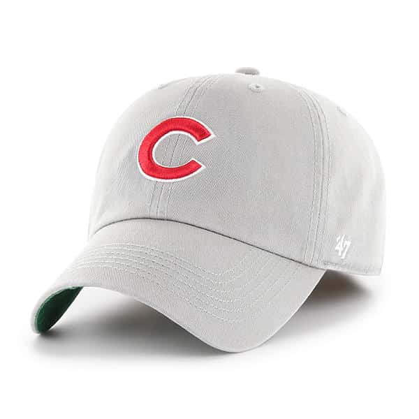 c5f312872c32be Chicago Cubs 47 Brand Gray Franchise Fitted Hat - Detroit Game Gear