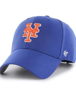 New York Mets 47 Brand Blue MVP Adjustable Hat