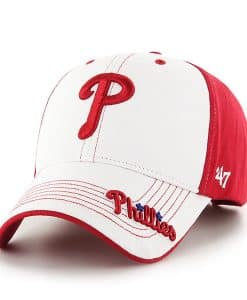 Philadelphia Phillies KIDS 47 Brand Red Revolution MVP Adjustable Hat