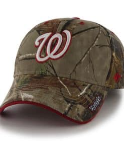 Washington Nationals 47 Brand Realtree Camo MVP Adjustable Hat