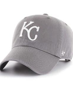 Kansas City Royals 47 Brand Dark Gray Clean Up Adjustable Hat