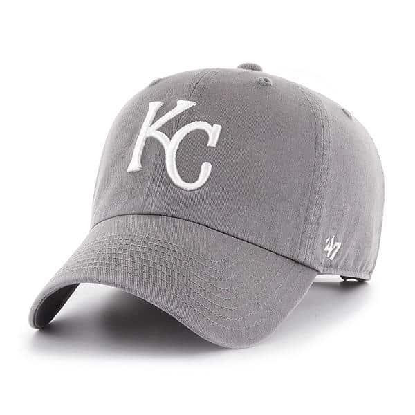 uk cheap sale clearance sale online for sale Kansas City Royals 47 Brand Dark Gray Clean Up Adjustable Hat ...