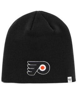 Philadelphia Flyers 47 Brand Black Beanie Hat