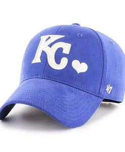 Kansas City Royals KIDS 47 Brand Blue Sugar Sweet Adjustable Hat