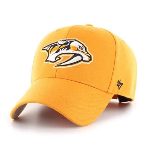 Nashville Predators 47 Brand MVP Gold Clean Up Adjustable Hat