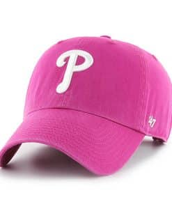 Philadelphia Phillies Women's 47 Brand Orchid Adjustable Hat