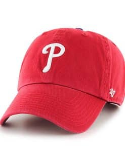 Philadelphia Phillies 47 Brand Red Home Clean Up Adjustable Hat