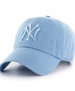 New York Yankees 47 Brand All Blue Columbia Adjustable Hat