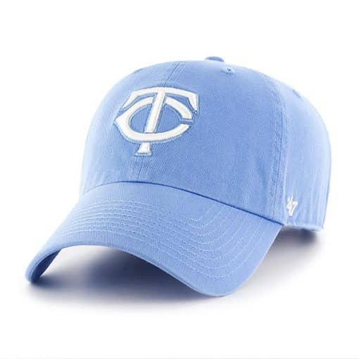 Minnesota Twins 47 Brand Periwinkle Clean Up Adjustable Hat