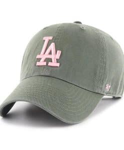 Los Angeles Dodgers Women's 47 Brand Moss Clean Up Adjustable Hat