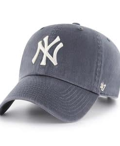New York Yankees Vintage Navy 47 Brand Clean Up Adjustable Hat