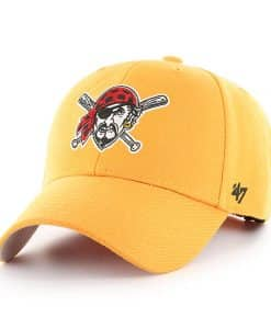 Pittsburgh Pirates 47 Brand Gold MVP Adjustable Hat