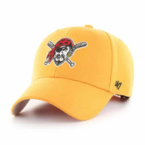 Pittsburgh Pirates 47 Brand Gold MVP Adjustable Hat