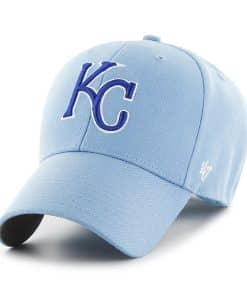 fa5a4b3db06b37 Kansas City Royals 47 Brand Columbia MVP Adjustable Hat