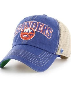 New York Islanders 47 Brand Royal Tuscaloosa Clean Up Adjustable Hat