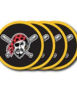 Pittsburgh Pirates Coaster Set - 4 Pack