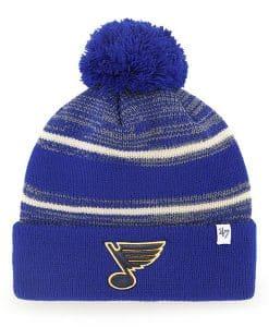 St. Louis Blues 47 Brand Royal Fairfax Cuff Knit Hat