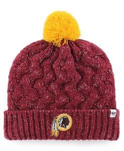 Washington Redskins Women's 47 Brand Cardinal Red Fiona Cuff Knit Hat