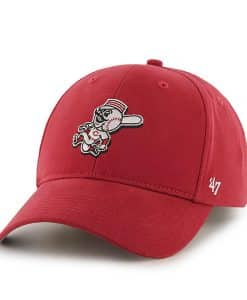 Cincinnati Reds KIDS 47 Brand Red Classic MVP Adjustable Hat