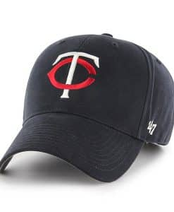 Minnesota Twins KIDS 47 Brand Navy MVP Adjustable Hat