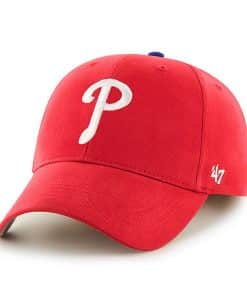 Philadelphia Phillies KIDS 47 Brand Red MVP Adjustable Hat