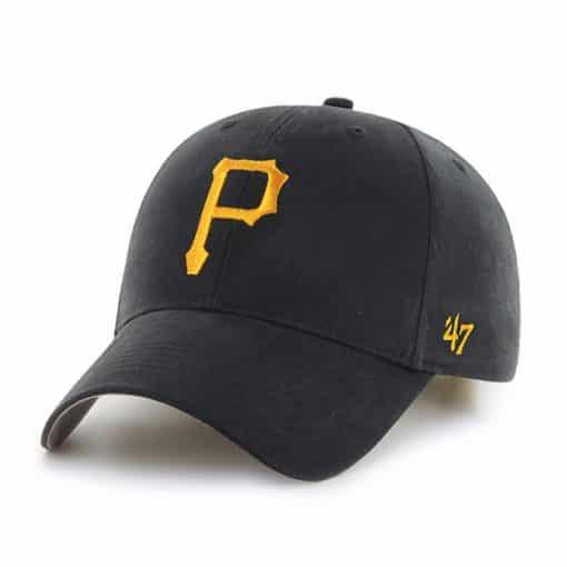Pittsburgh Pirates TODDLER 47 Brand Black MVP Adjustable Hat