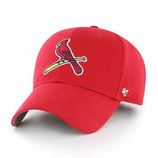 St. Louis Cardinals KIDS 47 Brand Red MVP Adjustable Hat