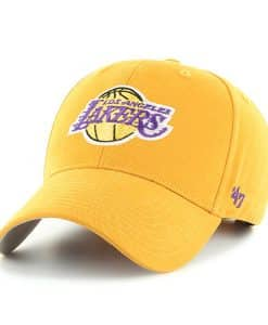 Los Angeles Lakers KIDS 47 Brand Gold MVP Adjustable Hat