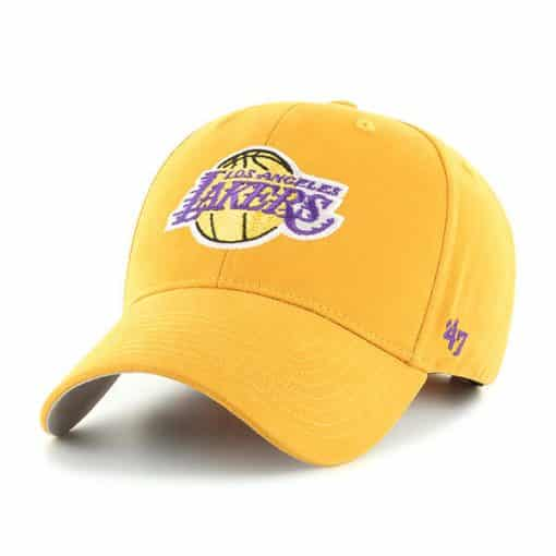 Los Angeles Lakers KIDS 47 Brand Gold MVP Adjustable Hat