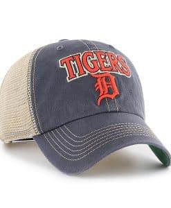Detroit Tigers 47 Brand Tuscaloosa Vintage Navy Clean Up Adjustable Hat