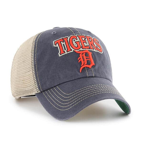 sports shoes ed24d 88c01 Detroit Tigers 47 Brand Tuscaloosa Vintage Navy Clean Up Adjustable Hat