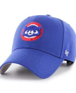 Chicago Cubs 47 Brand Royal Cooperstown MVP Adjustable Hat
